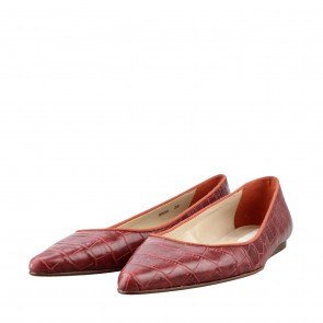 Stella McCartney Maroon Flats