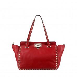 Valentino Red Garavani Rockstud Small Tote Bag