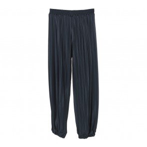 Dark Blue Pleated Jogger Pants