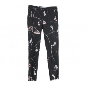 H&M Black Floral Pants