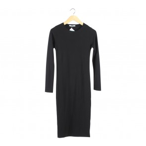 Pull & Bear Black Long Dress