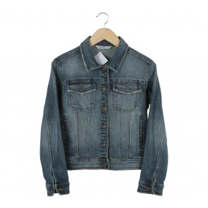 Zara Blue Denim Jaket