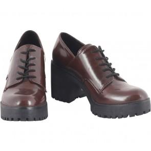 Zara Brown Heels Boots
