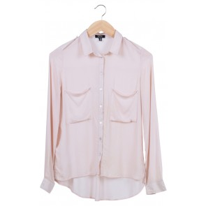 Cream Pocket Shirt