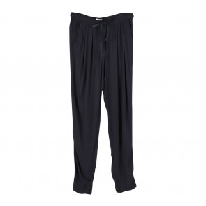 Mango Black Viscose Pants