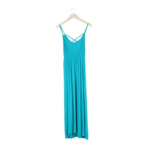 Miss Selfridge Green Long Dress