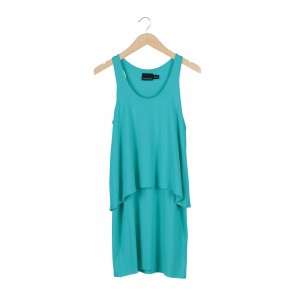 Cynthia Rowley Green Midi Dress