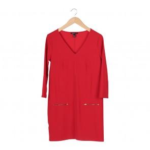 Mango Red Mini Dress