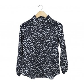Beste Project Black And White Leopard Shirt