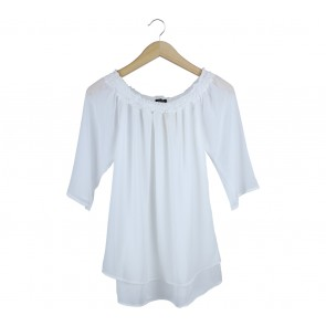 Beste Project White Bardot Blouse