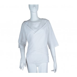 Beste Project White Tied Blouse