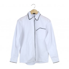 Beste Project White Trimmed Shirt