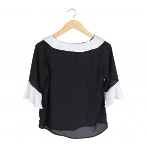 Beste Project Black And White Blouse
