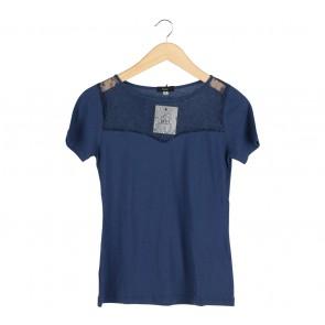 Beste Project Dark Blue Lace T-Shirt