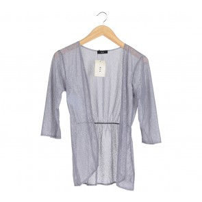 Beste Project Grey Lace Sheer Outerwear