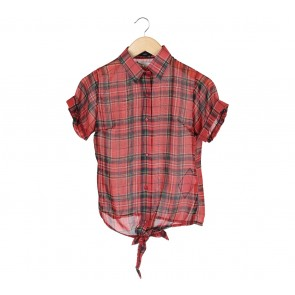 Beste Project Multi Colour Tartan Tied Shirt