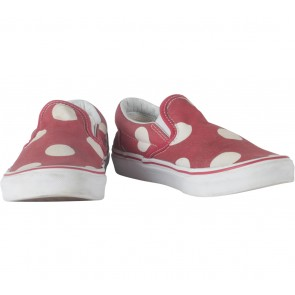 Vans Red Polka Dot Sneakers