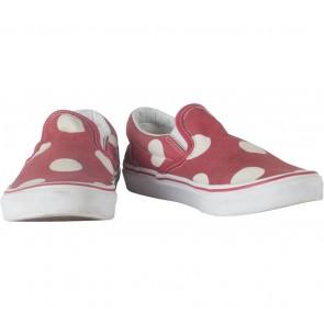 Vans Red Polka Dot Sneakers