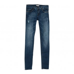 Pull & Bear Blue Ripped Pants