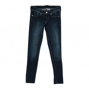 H&M Dark Blue Washed Pants