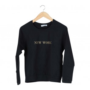 Cotton Ink Black Sweater