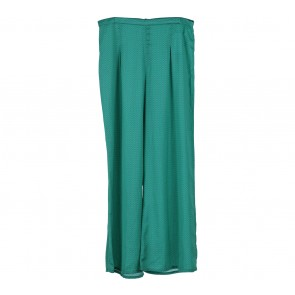 Zara Green Patterned Pants