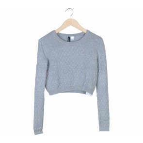 Divided Grey Sweater