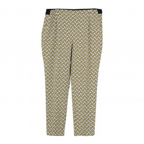 Zara Multi Colour Patterned Pants