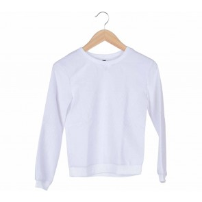 Divided White Sweater