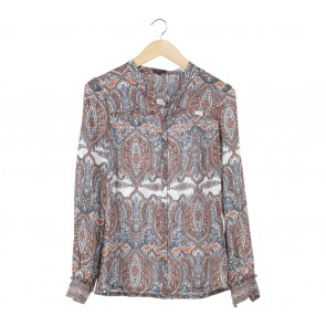 Esprit Multi Colour Patterned Blouse