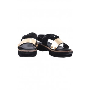 Chiel Black Goldie Sandals