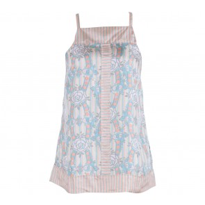 French Connection  Multi Colour Cross Strap Floral Sleeveless