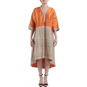 Orange and Brown Caftan