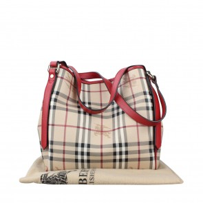 Burberry Brown Small Canterbury Shoulder Bag