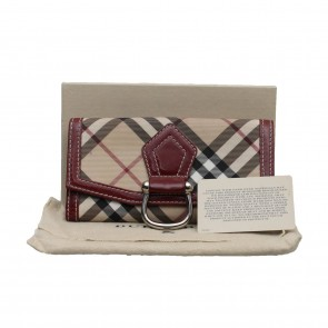 Burberry Red Wallet