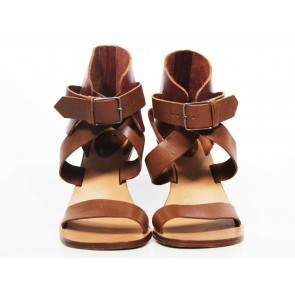 Chloe Brown Sandals