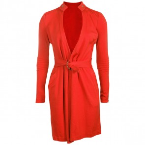 Diane Von Furstenberg Red Midi Dress