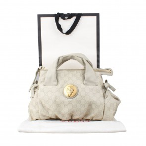 Gucci Cream Shoulder Bag