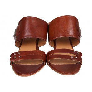 Hermes Brown Sandals