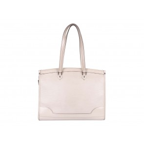 Louis Vuitton White Madeleine GM Shoulder Bag