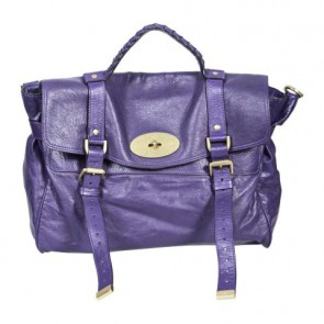 Mulberry Purple Alexa Shoulder Bag