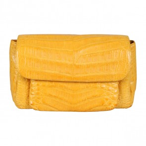 Nancy Gonzalez Yellow Sling Bag