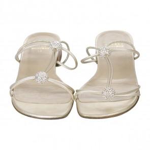 Stuart Weitzman Gold Sandals