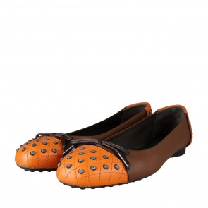 Tod´s Brown And Orange Flats