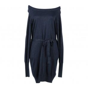 H&M Dark Blue Glittery Mini Dress