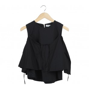 Cotton Ink Black Blouse
