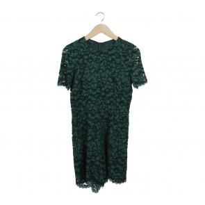 Dark Green Lace Jumpsuit