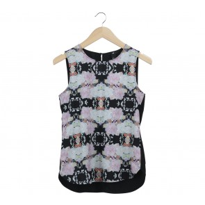 H&M Multi Colour Sleeveless