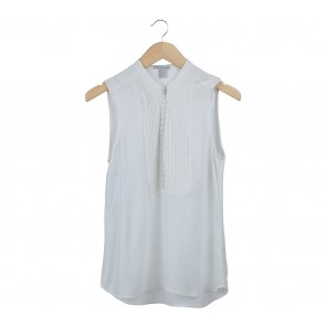 H&M Off White Sleeveless
