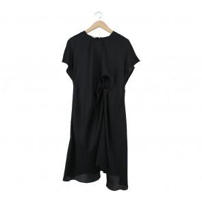 N.F.R.T Black Midi Dress